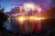 Fireworks on the Lugano Lake - 66222171