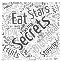 7 Diet Secrets of the Stars