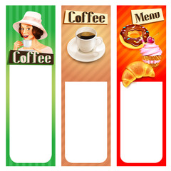 menu coffee frame