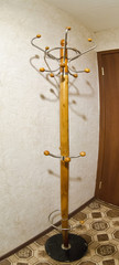 solitary coat rack