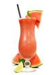 Cocktail mit Wassermelone und Minze