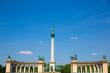 Milleniumsdenkmal auf dem Heldenplatz in Budapest