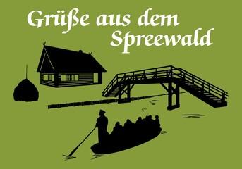 Grüße aus dem Spreewald ~ Version 4