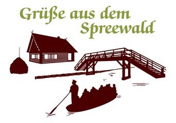 Grüße aus dem Spreewald ~ Version 3