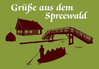 Grüße aus dem Spreewald ~ Version 2