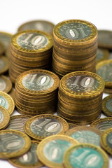 Монеты. Российские рубли