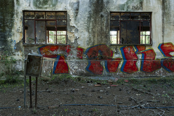 Palazzo abbandonato esterni