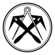 Dachdecker ~ Symbol ~ Zeichen ~ Emblem V2