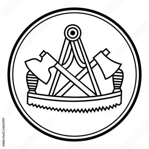 Schreiner Zeichen gamesageddon schreiner symbol zeichen emblem v1