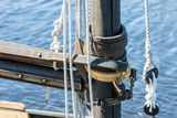 Detail of sail mast