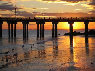 Brighton Beach sunset