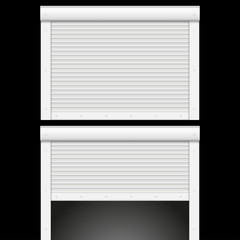 Roller shutters garage