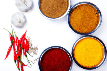 curry powder with chili ,garlic,pepper ingredients