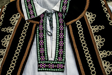 Romanian traditional male costume.