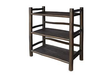 Shelves black bamboo