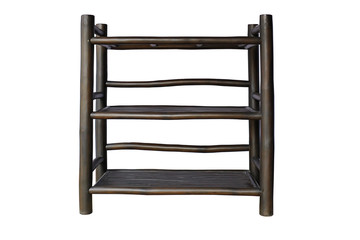 Shelves black bamboo