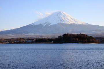 Fujiyama at Kawaguchi lake side