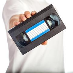 VHS video tape cassete