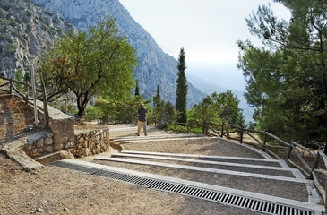 Delphi in Greece.