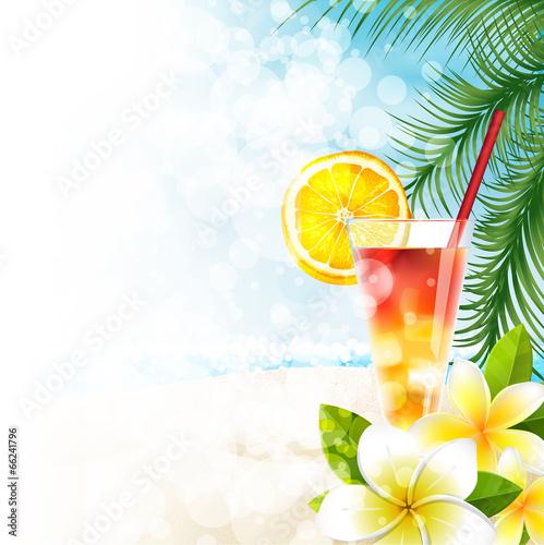 Cocktail in spiaggia, menù - 66241796