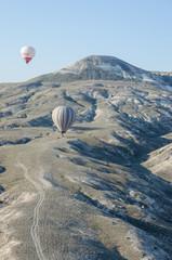カッパドキア、気球からの眺め