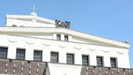 religious building - forepart
