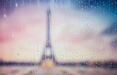 Silhouette of Tour Eiffel