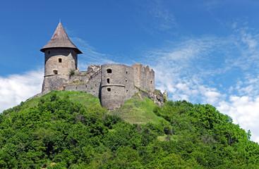 Ruin of Castle Somoska, Slovakia