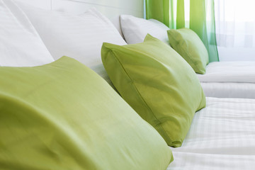 Decorative pillow bed