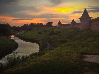 Ancient Russian town Suzdal.