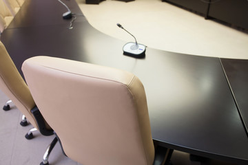 conference table and seat