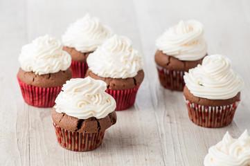 Cupcake dolce decorato