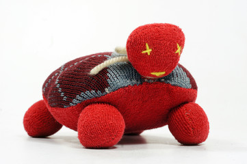 Handmade textile toy