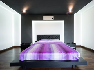 Interior of a specious luxury bedroom