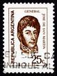 Postage stamp Argentina 1971 Jose de San Martin, General