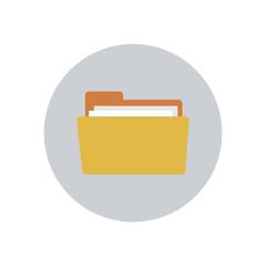 Folder  - Vector icon
