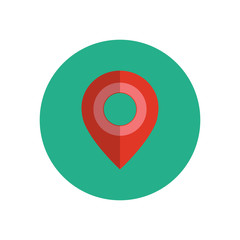 Map pointer - Vector icon