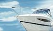 Leinwandbild Motiv motorboat