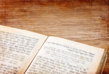 ancient Jewish prayer book pic