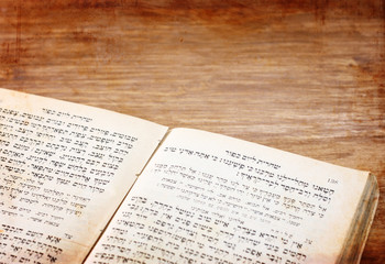 ancient Jewish prayer book pic