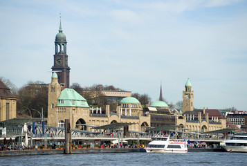 St. Pauli-Landungsbrücken - Hamburg