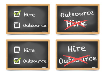 Blackboard Hire Outsource