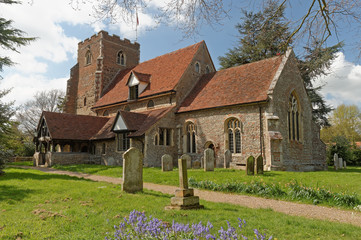 English Medieval Village Church