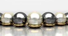 Smycken, prydnadsföremål, pärlor, guld, smycken, ring, halsband