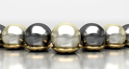 Gioielli, preziosi, perle, oro, gioielleria, anello, collana