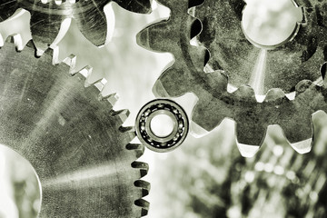 titanium gears and cogs, aerospace parts