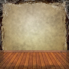 Yellow, Gold, grunge background. Abstract vintage texture with f