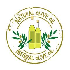 stamp olive oil