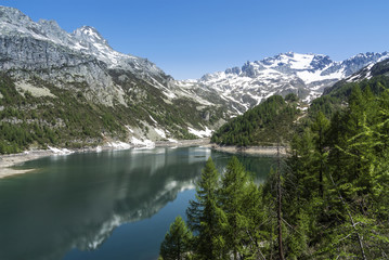 Devero Lake, spring season - Italy