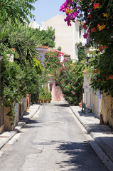 A neighborhood in Plaka area, Athens, Greece